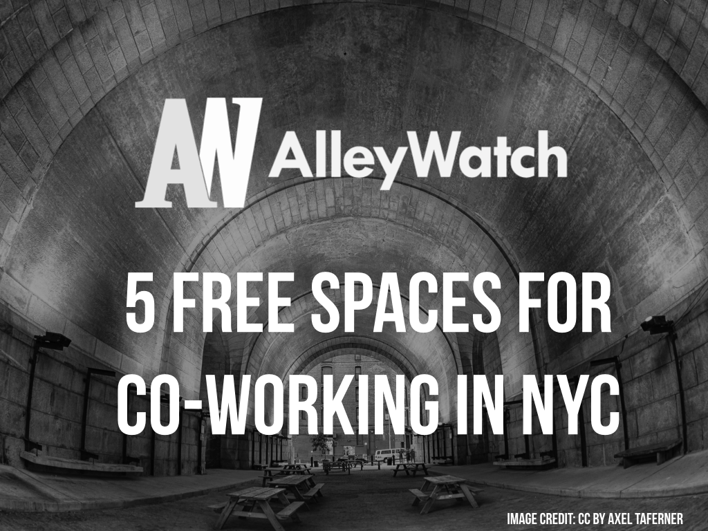 free coworking nyc