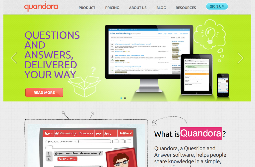 quandora screenshot