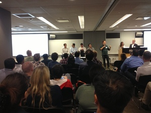 Monthly Pitching Drill Allows Entrepreneurs to Polish Presentations