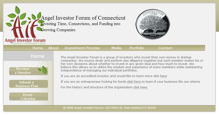 ANGEL INVESTOR FORUM