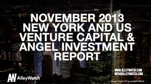 The November 2013 New York and National Venture Capital and Angel Funding Report