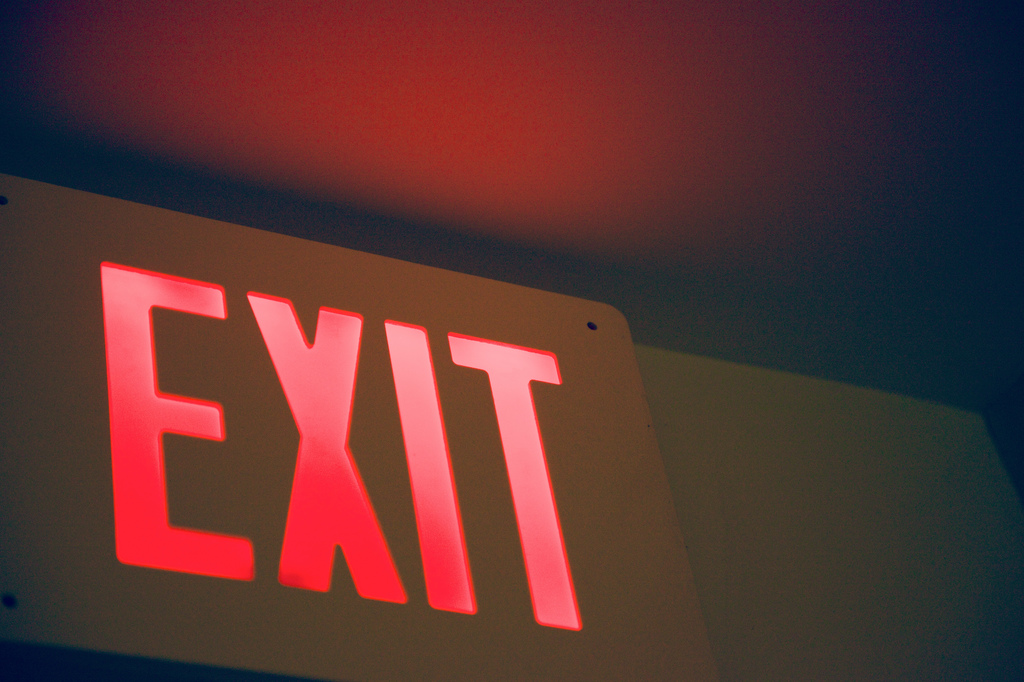 startup exit