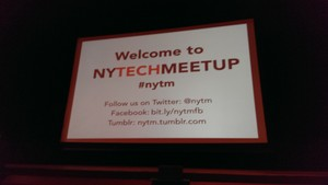 March NY Tech Meetup: the Site's Up and So Are the Startups