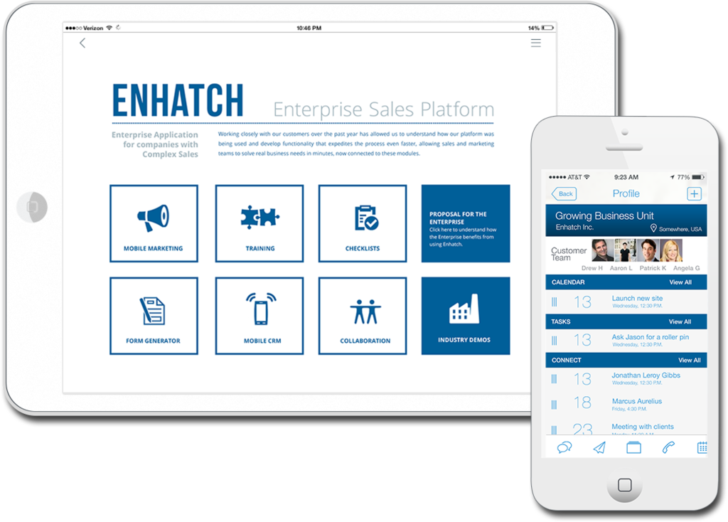 Enhatch - Mobile Marketing & Sales