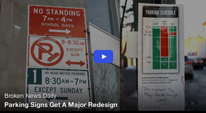 Here is the Entrepreneur Who is Disrupting Parking Signs