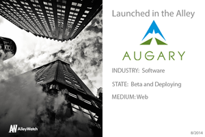NYC Startup Augary: Where the Cloud Meets the Road