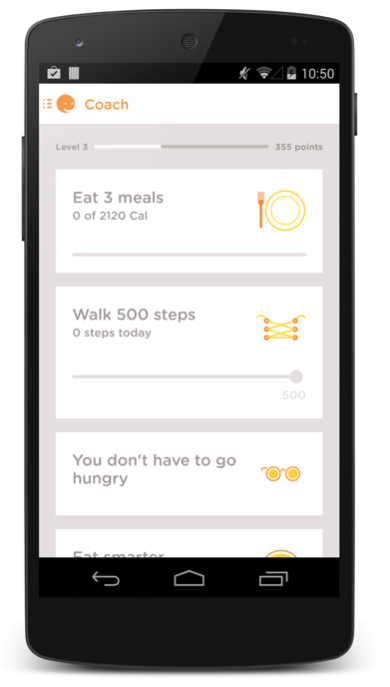 Noom Health screenshot