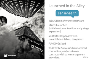 New York Digital Health Accelerator's Sense Health Shows that the Best Medicine is – Texting