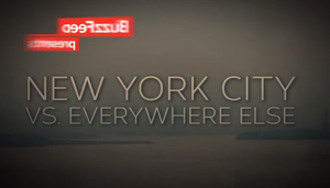 New York City Vs. Everywhere Else, By The Numbers