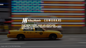 August 2014 NYC Venture Capital and Angel Funding Report