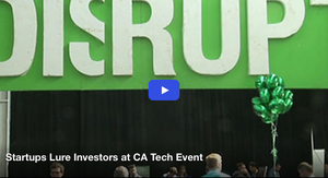 Startups Lure Investors at TechCrunch Disrupt