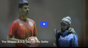 The Shapie: A 3-D Take on the Selfie
