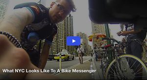 What NYC Looks Like To A Bike Messenger