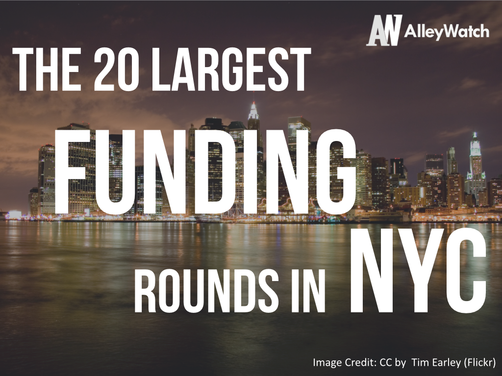 The 20 Largest Funding Rounds in NYC.001