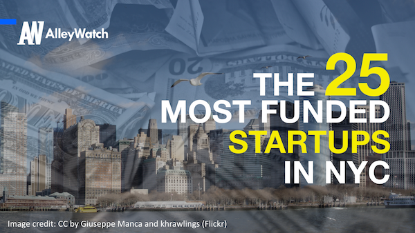 alleywatch 25 most funded startups in nyc.001