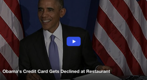 Obama's Credit Card Gets Declined at NYC Restaurant