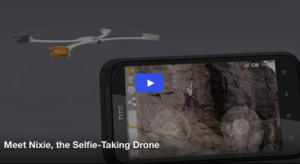 Meet Nixie, the Selfie-Taking Drone