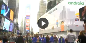 Google's Massive NYC Android Ad