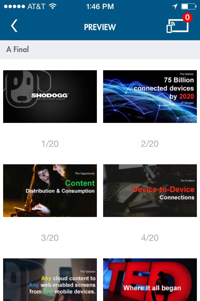 6_Shodogg Connect Presentation Slide View