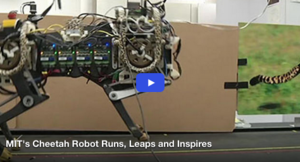 MIT's Cheetah Robot Runs, Leaps and Inspires