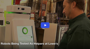 Robots Being Tested As Helpers at Lowe's