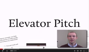 Mastering the Elevator Pitch 101