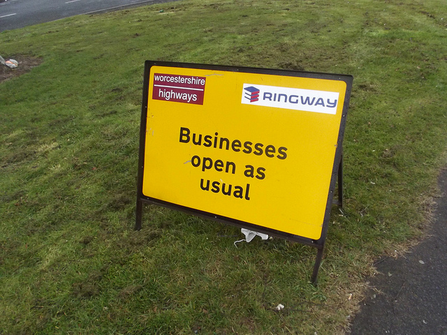 Open Or Closed Business