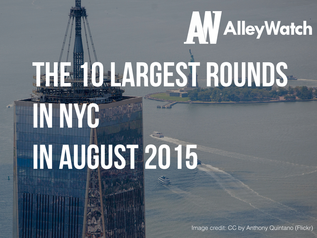 largest startup fundings nyc.001