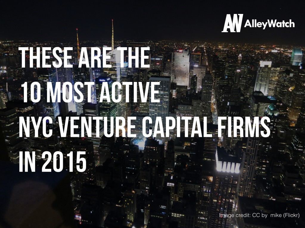 most active vcs in new york.001