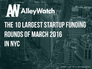 These are the 10 NYC Startups That Raised the Most Amount of Capital in March