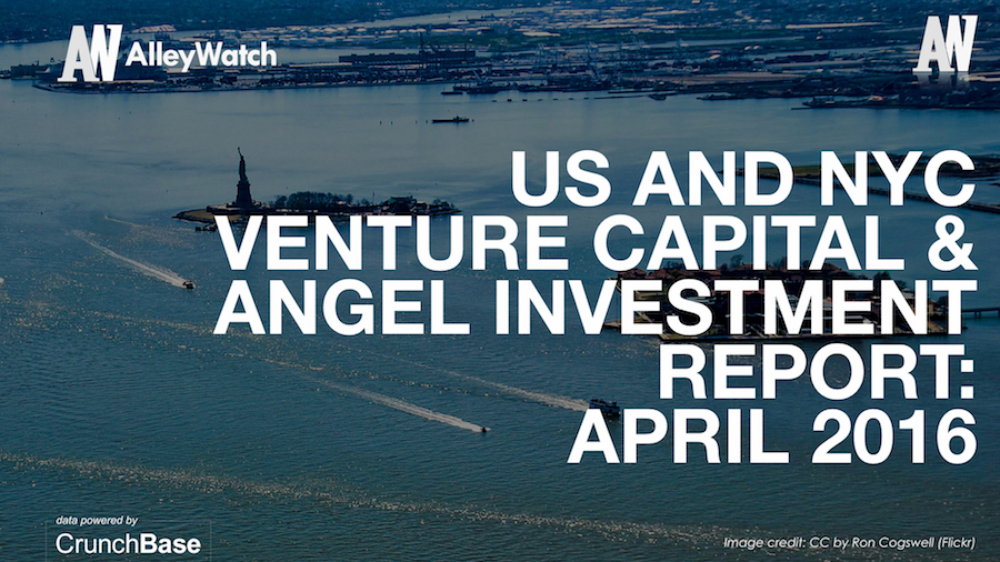 AlleyWatch April 2016 New York and US Venture Capital & Angel Investment Report.002