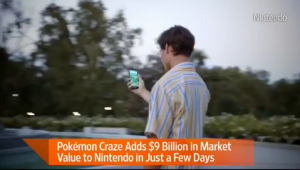 Pokémon Go's Success Sends Nintendo Shares Soaring