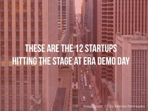 These are the 12 Startups That Hit The Stage at ERA Demo Day