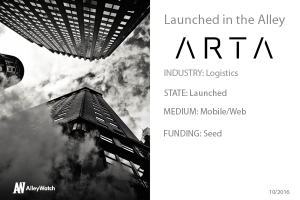 NYC Startup ARTA Delivers!