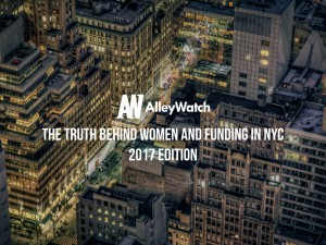 The Truth Behind Women and Funding in NYC: 2017 Edition