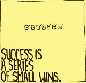 F*ck Big Announcements: Small Victories Drive Startups