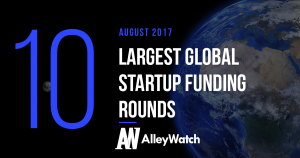 The 10 Largest Global Startup Funding Rounds of August 2017