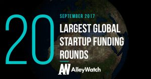 The 20 Largest Global Startup Funding Rounds of September 2017