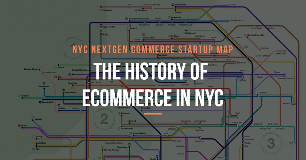 Interactive Map Of New York City.The History Of Ecommerce In New York City In One Interactive Map
