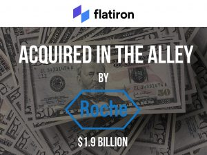 MEGA NYC Deal:Flatiron Health Acquired by Roche for $1.9B