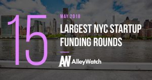 These are the 15 Largest NYC Startup Funding Rounds of May 2018