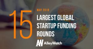 The 15 Largest Global Startup Funding Rounds of May 2018