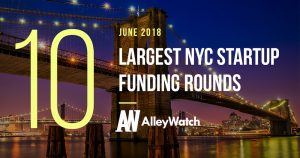 These are the 10 Largest NYC Startup Funding Rounds of June 2018
