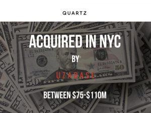 Quartz To Be Acquired by Uzabase For Between $75M-$110M