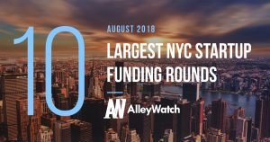 These 10 NYC Startups Raised the Most Capital in August 2018