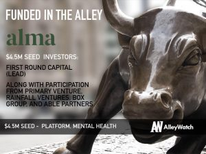Alma Raises $4.5M to Provide the Ultimate Space and Full Service Platform for Mental Health Therapists