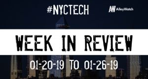 #NYCtech Week in Review: 1/20/19-1/26/19