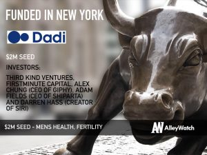 Dadi Raises $2M for its At Home Male Fertility Test and Sperm Storage Kit