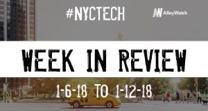#NYCtech Week in Review: 1/6/19-1/12/19