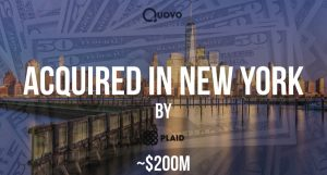 Fintech Startup Quovo Acquired by Competitor Plaid for ~$200M